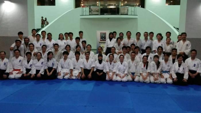at SIM University dojo